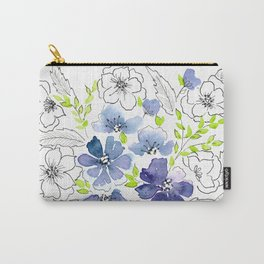 It's all good.  French Floral  Carry-All Pouch