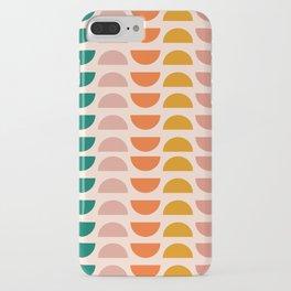 Retro 70s Geometrics iPhone Case