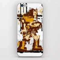 castlevania iPhone & iPod Skins featuring Simon De Belemonte' Splatter by alwasow