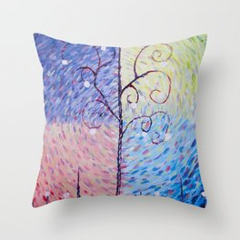Seasonal Changes - by MylesKatherine Throw Pillow