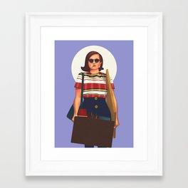 Peggy Olson from Mad Men Framed Art Print