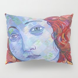 Variations On Botticelli's Venus - No. 3 (Primary Colors) Pillow Sham