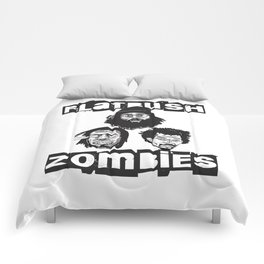 Flatbush Zombies BW Comforters