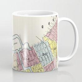 Vintage Map of Brookyln Coffee Mug