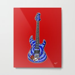 Dormouse Guitar Metal Print