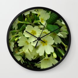 primula Wall Clock