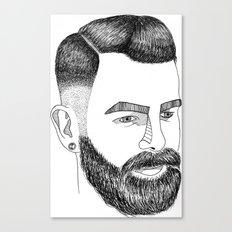 Haircut 60's Canvas Print