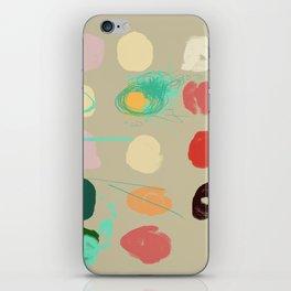 Tops of Ice Cream Cones Like Toupées iPhone Skin