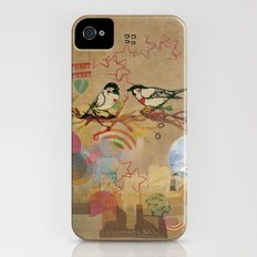 Two Little Birds Slim Case iPhone (4, 4s)
