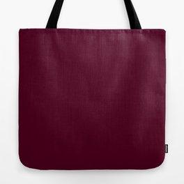 Burgundy solid. Tote Bag