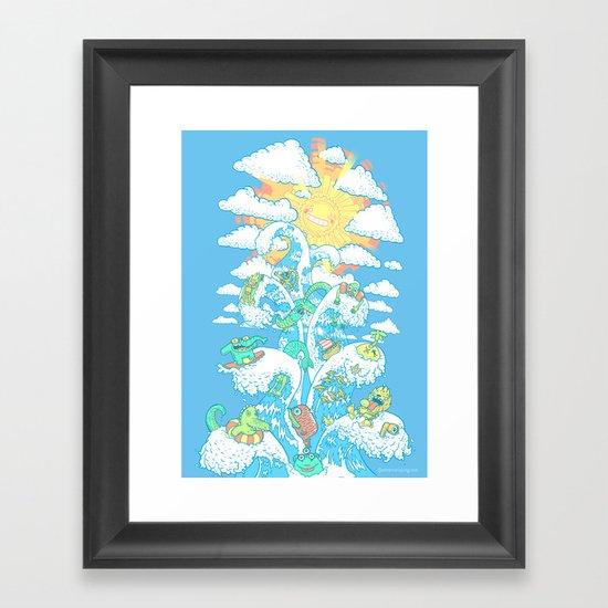 Tower of Fable Framed Art Print