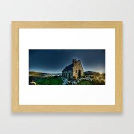 Tekapo Sunrise Framed Art Print