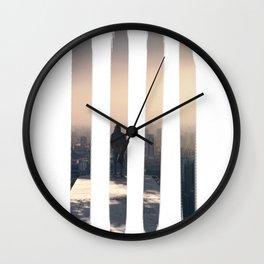 Locked City Wall Clock