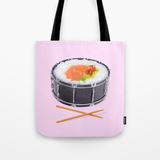 SUSHI DRUM ROLL Tote Bag