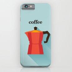 Minimal Coffee Poster iPhone 6s Slim Case