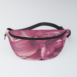 Bright Pink Dahlia Fanny Pack