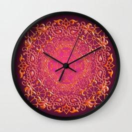 Sari Sunset Wall Clock