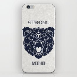 Strong Mind iPhone Skin