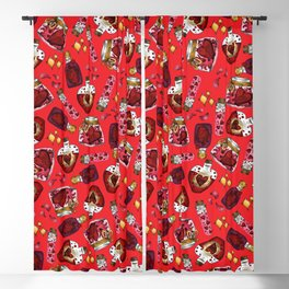 Witchy Love Potion I Blackout Curtain