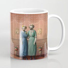 The Sloth Sisters at Home Coffee Mug