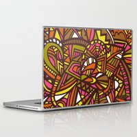 hippy Laptop & iPad Skins featuring Hippy Love by Lauren Taylor Creations
