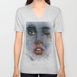 Space girl Unisex V-Neck