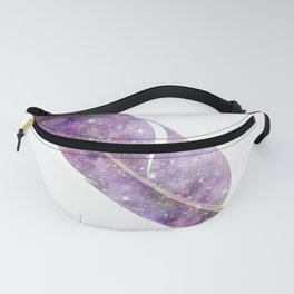 Cosmic Feather Fanny Pack