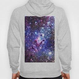 purple blue Eagle Nebula Hoody