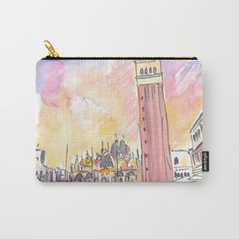 Quiet Afternoon on St Marks Square in Venice Carry-All Pouch
