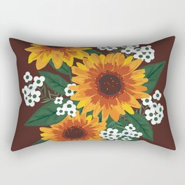 Autumn Bouquet Rectangular Pillow