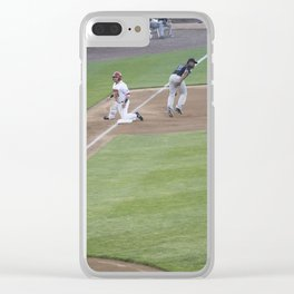 Home Opener 2 Clear iPhone Case