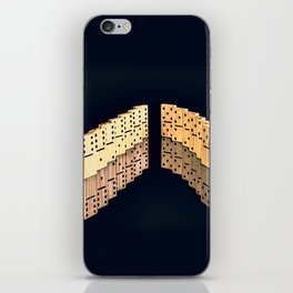 Domino effect iPhone Skin