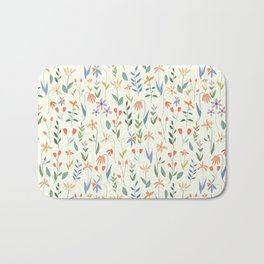 Wildflowers in the Air Light Bath Mat