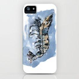 Watery Shrimp iPhone Case