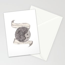 The Secret Moon  Stationery Cards
