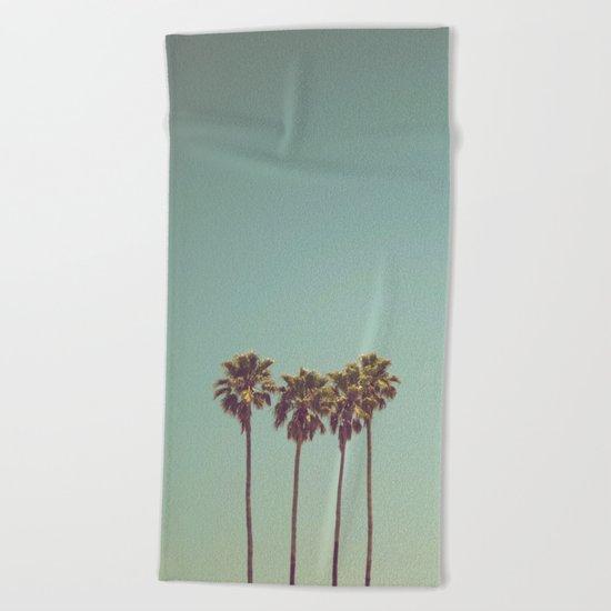 Vintage cali Beach Towel