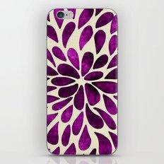 Petal Burst #21 iPhone & iPod Skin