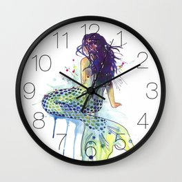 Mermaid Wall Clock