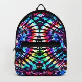 Tie Dye Hour Glass Backpack
