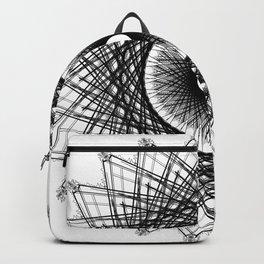 """""""Blk Spiral"""" Backpack"""