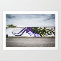 Art Print featuring Jeff Soto by GautCheezzz