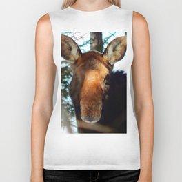 Moose in the Trees Biker Tank