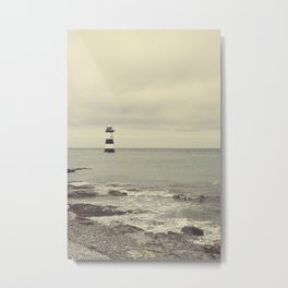 Pen Mon lighthouse Metal Print
