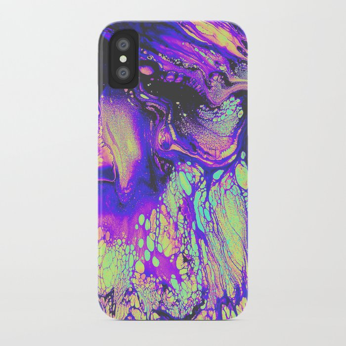 FIRE AND THUD iPhone Case
