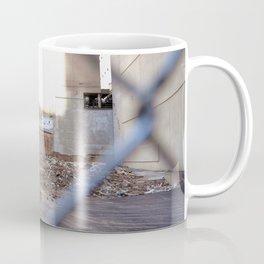 Concrete Jungle Undergoing Maintenance, New York City Coffee Mug