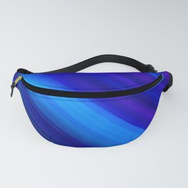 Abstract watercolor colorful lines painting Fanny Pack