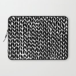 Hand Knitted Black S Laptop Sleeve
