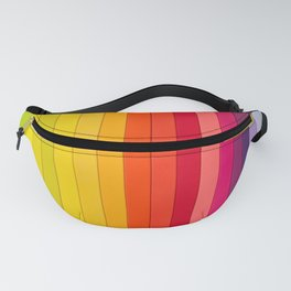 Rainbow Ombre Fanny Pack
