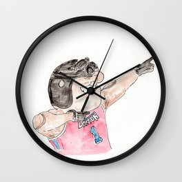 Rudy Flyer,University of Dayton, Flyers Wall Clock