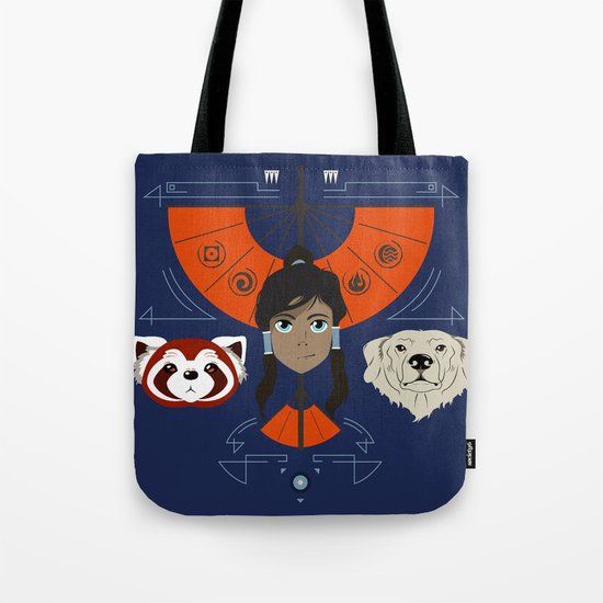 Spirited Avatar Tote Bag